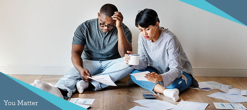 Stress on relationships due to increasing debt